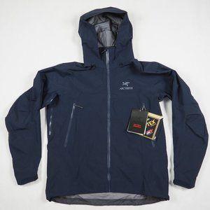 Arc'teryx Men's Beta AR Jacket Gore-Tex Dark Navy Blue Tui XL